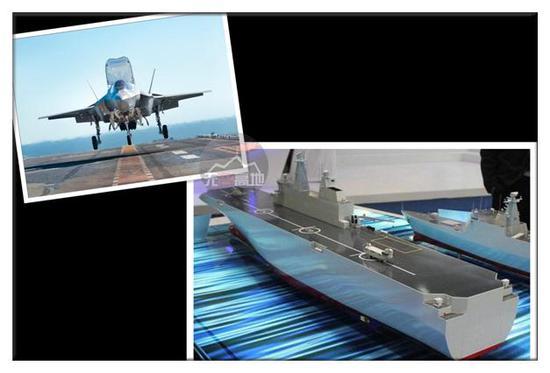 中国要造两栖攻击舰 如果缺少F-35B这样的特种作战飞机 很难获得区域制空权