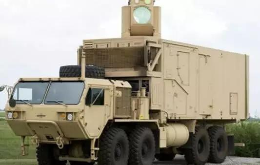 美陆军的10千瓦级激光战车