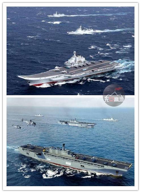 从现在来看,舰可能多的建造航空母舰成为了争夺区域制空权的关键