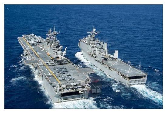美军的两栖攻击舰经过多次实战 表现出极强的投送能力
