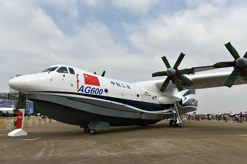 美称中国ag600两栖飞机5月首飞可用于南海岛礁补给a5两栖飞机