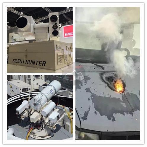 中低功率的激光武器 已经开始公开售卖 高功率的正在武器化