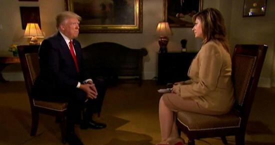 特朗普接受福克斯新闻采访