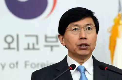 ▲韩国外交部发言人赵俊赫