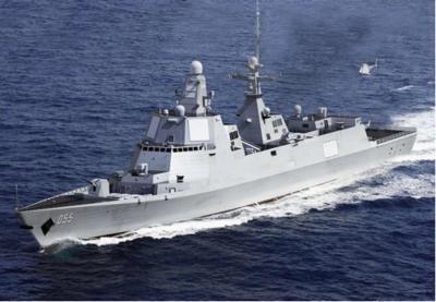 055万吨大驱或采用中国自行研发的舰用燃气轮机