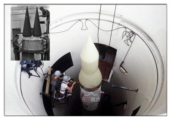 民兵-3洲际导弹虽然只有35吨多 可精确打击能力和毁伤能力都相当强