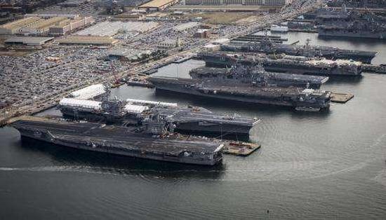 美军高官:中国海军正在大踏步前进 美国也要跟上