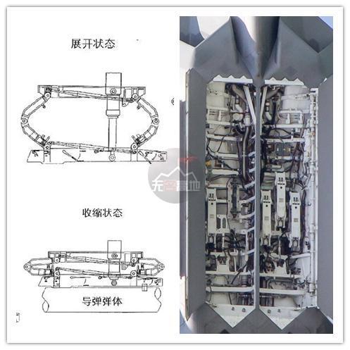 这种先进的内置弹舱发射技术 不仅仅考验的是弹药、挂架、机体、火控 全方面需求考量