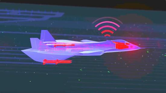 美军火商发布第六代战机概念图 外形竟酷似歼20(图)