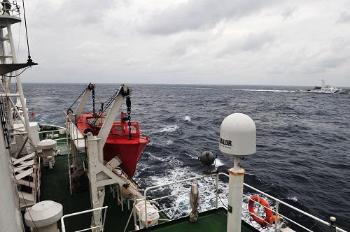 日媒称中日展开海洋调查较量 调查船频繁进入钓鱼岛