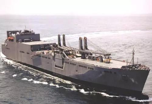 美海上预置舰沃森号