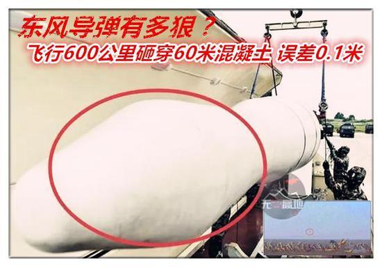 这次外观奇特的东风-15C导弹 角度选取很独到