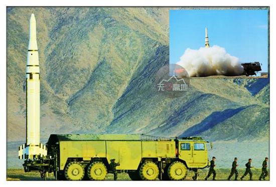 首度见到东风-15C是在2013年 当时美军就有了自己的判断