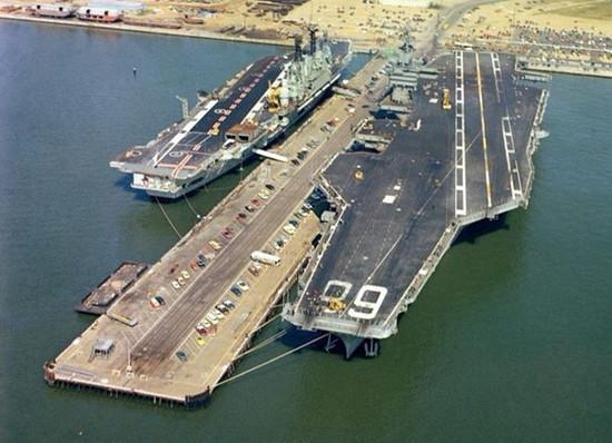 中国001A航母正处于设备舾装阶段 舰队实力全球第二