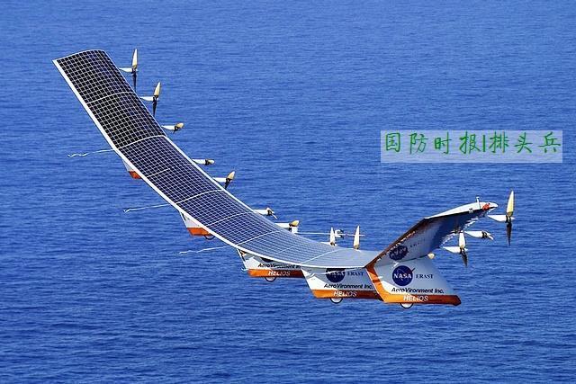 进而避免太阳能无人机在高速飞行时,因机翼上的气动力和结构变形越来