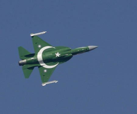 巴基斯坦的枭龙战机