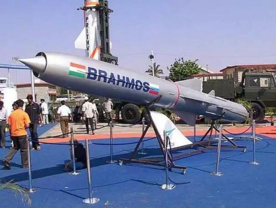 印度布拉莫斯巡航导弹