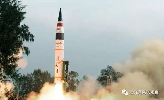 烈火-5弹道导弹