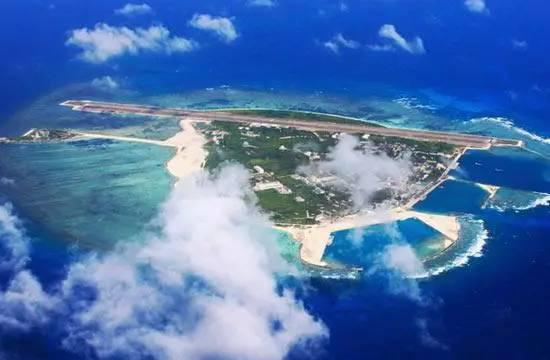 资料图:南海岛屿
