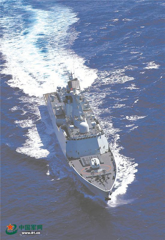 黄金神威 - 2011年5月30日,人民海军战斗序列再添