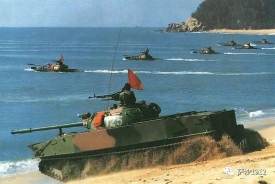 我军50岁高龄的63式两栖坦克 是否还能参加台海作战