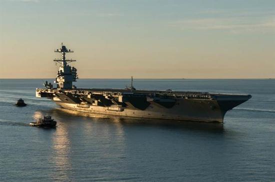福特号核动力航母图片