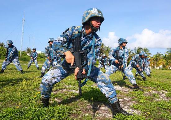 中国在岛礁建电影院是否加强控制南海 外交部回应