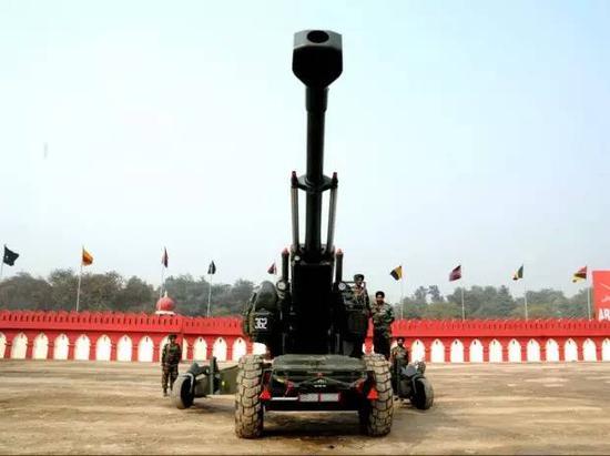 """印度火炮试验失败 反赖河南""""劣质零件""""威胁印国防"""