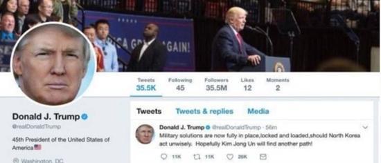 特朗普称准备向朝鲜开火 美国网友炸开了锅北京卫视军情解码视频