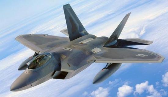 第五代战机的标杆F-22