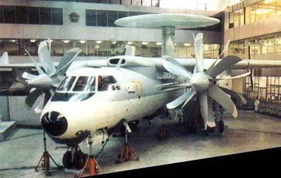 雅克-44舰载固定翼预警机