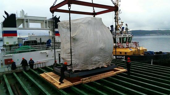 庫茲涅佐夫號的新鍋爐