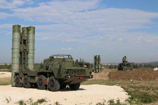 △俄军在叙利亚的防空阵地