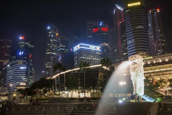 新加坡鱼尾狮公园(图片来自网络)