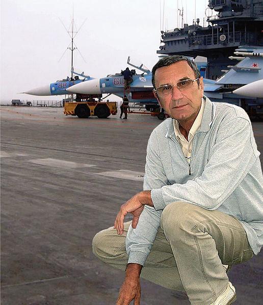 资料图:乌克兰航母专家巴比奇·瓦列里(图片来自维基百科)