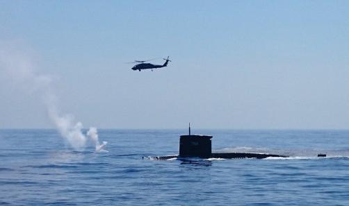 台湾受邀观摩美军反潜演习 台媒叫嚣称遏制中国大陆