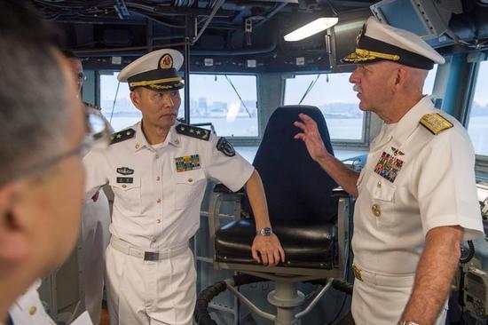 美军最反华上将确认离任 屡次质疑中国南海岛礁扩建