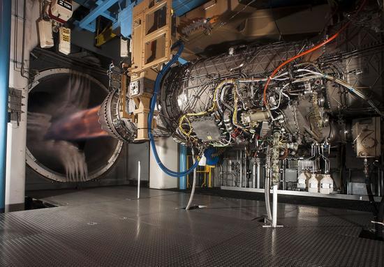 测试中的F135发动机
