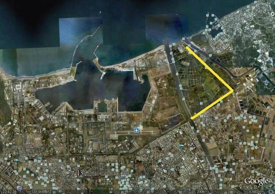 威海计划的示意图,台湾联合新闻网绘图