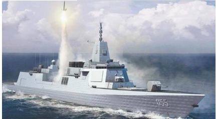 055万吨驱逐舰未来的作用相当关键