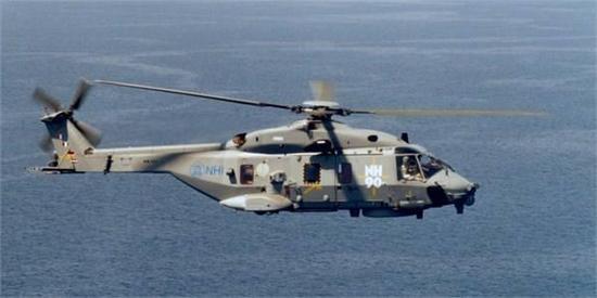 采用电传操纵系统的NH90直升机