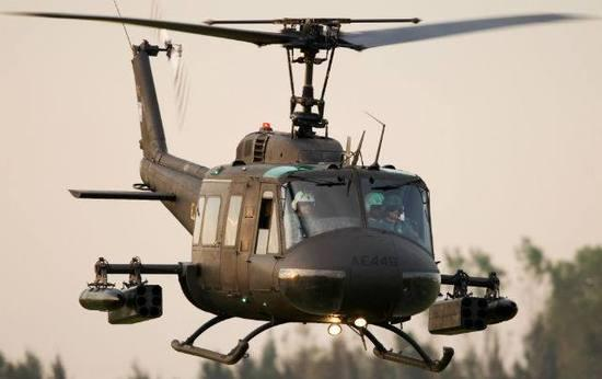 资料图:贝尔412直升机