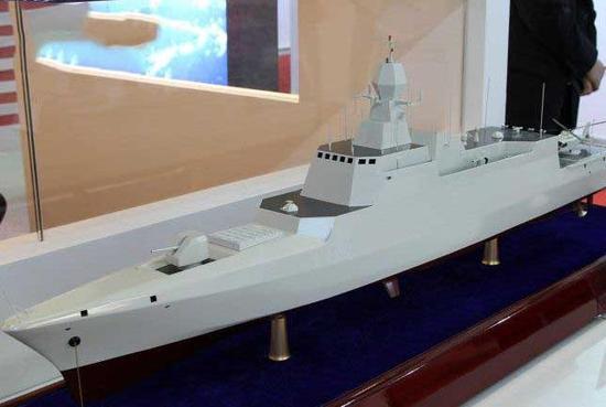1500吨级轻型护卫舰模型