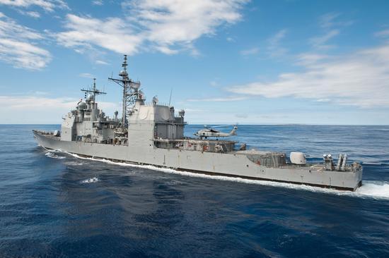 """""""提康德罗加""""级普林斯顿号(CG-59),图片来源:美国海军"""