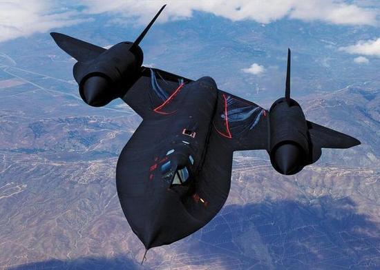 资料图:SR-71黑鸟侦察机