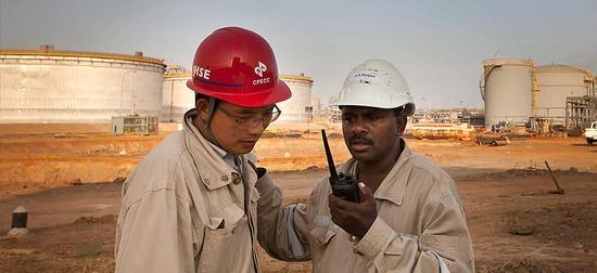 中方在非洲的援助项目 @视觉中国