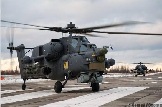 俄将在波罗的海部署米28N和卡52直升机 对抗北约中日最新军事新闻2017