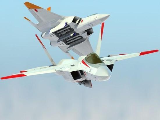 日本隐形战机方案酷似中国FC31 但出现在纸面上
