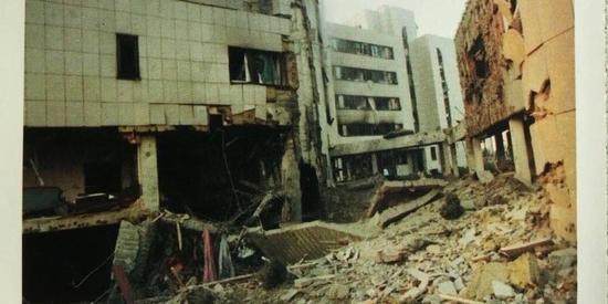 1999年,以美国为首的北约对南联盟进行轰炸