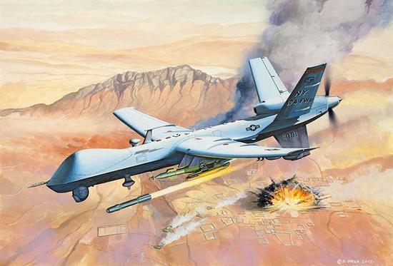彩虹5完成7千米升限试飞 可在6千米高空毁敌防空系统